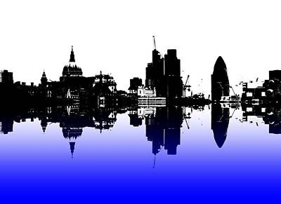 London Skyline Photograph - City Of Culture by Sharon Lisa Clarke