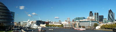 London Skyline Royalty-Free and Rights-Managed Images - City of London by Chris Day