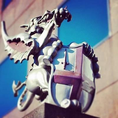 Dragon Photograph - City Of London by Daniel Kocian