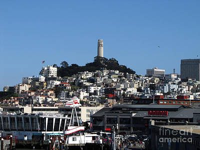 Photograph - City Of San Francisco by Serena Ballard