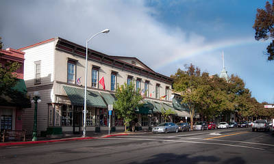 Photograph - City Of St. Helena by Gary Rose