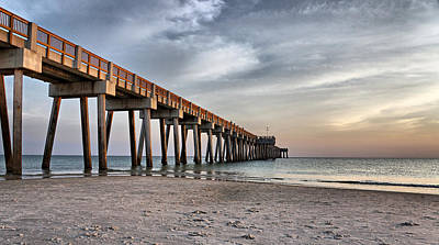 Photograph - City Pier by Sandy Keeton