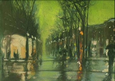 City Rain 6 Art Print by Paul Mitchell