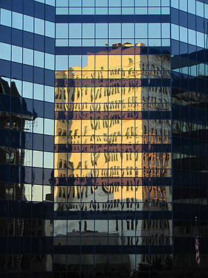 Photograph - City Reflections 3 by Anita Burgermeister