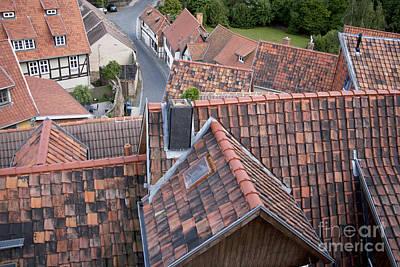 City Roofs Art Print