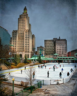 Photograph - City Skaters by Robin-Lee Vieira