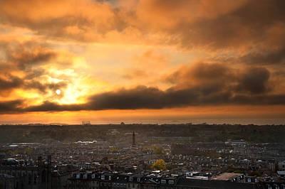 River Scenes Photograph - City Sunset by Svetlana Sewell