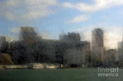 City View Through Window 3 Original