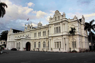 Public Administration Digital Art - Cityhall-penang by KH Lee