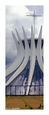 Citymarks Photograph - Citymarks Brasilia by Roberto Alamino