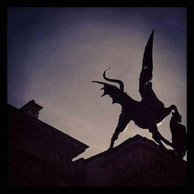 Dragon Photograph - #cityoflondon #dragon by Manee Authi 🇬🇧