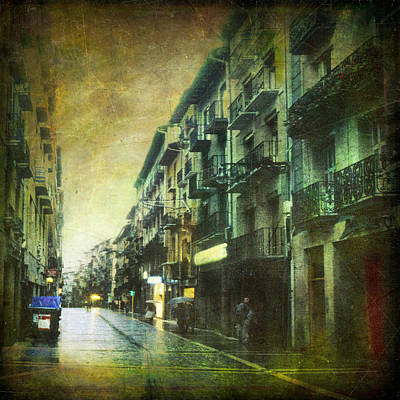 Photograph - Cityscape #12. Before Rain by Alfredo Gonzalez