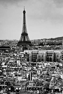 Cityscape Of Paris Art Print by Sbk_20d Pictures