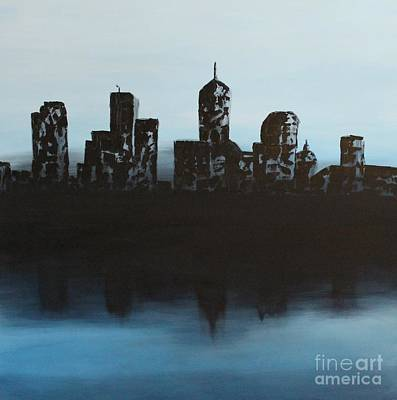 Painting - Cityscape One by Steven Dopka