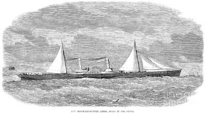 Lizzie Photograph - Civil War: Blockade, 1864 by Granger