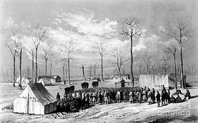 Civil War: Chaplains, 1861 Art Print by Granger