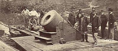 Albumen Photograph - Civil War Ghost 1864 by Padre Art