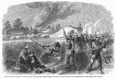 Civil War: Hainesville Art Print