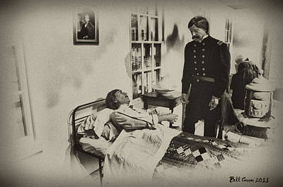 Civil War Hospital Art Print by Bill Cannon