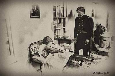 Civil War Hospital Art Print