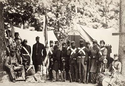 Civil War: Militia, 1861 Art Print