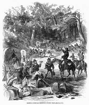 Mosby Photograph - Civil War: Mosbys Rangers by Granger