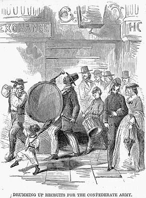 Civil War: Recruitment, 1861 Art Print by Granger
