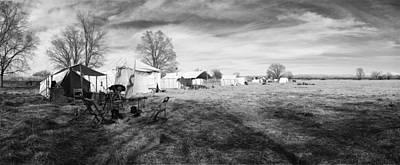 Photograph - Civil War Reenactment Nm by Jan W Faul