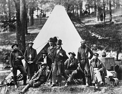 Army Of The Potomac Photograph - Civil War: Scouts, 1862 by Granger