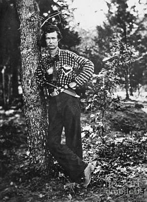 Civil War: Soldier, 1861 Art Print by Granger