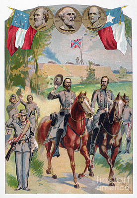 Civil War: Uniforms Print by Granger