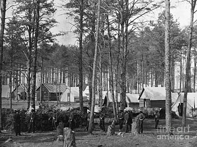Photograph - Civil War: Union Camp, 1864 by Granger