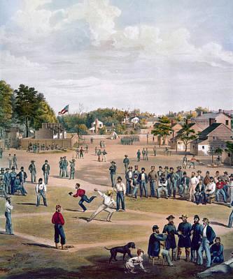Civil War: Union Prisoners Art Print by Granger