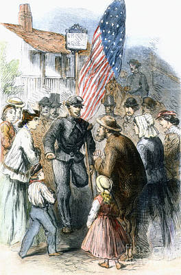 Civil War: Veteran, 1867 Print by Granger