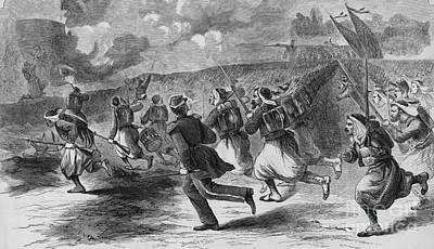 Civil War: Zouaves, 1861 Art Print by Granger