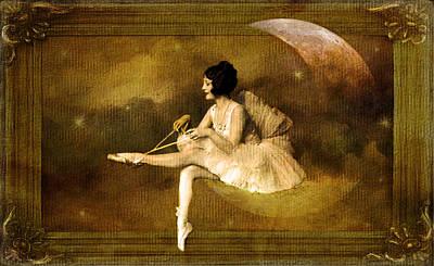 Photograph - Clair De Lune by Marie  Gale