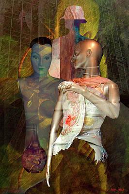 Digital Art - Clara by Helga Schmitt
