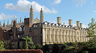 Photograph - Clare College Cambridge by Tony Murtagh