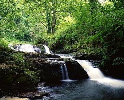 Clare Glens, Co Limerick, Ireland Irish Art Print by The Irish Image Collection