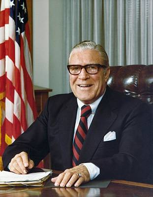 Clarence Kelley As Director Of The Fbi Print by Everett