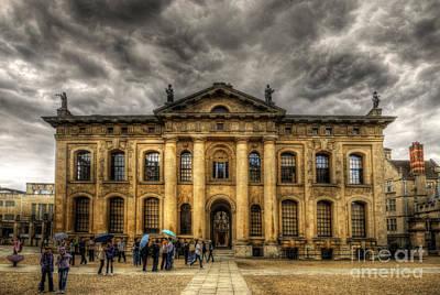 Photograph - Clarendon Building - Oxford by Yhun Suarez