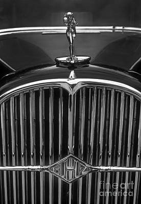 Photograph - Classic 32 Buick Grill Emblem by Paul W Faust -  Impressions of Light