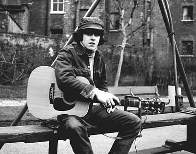 Photograph - Classic 60's - Donovan by Chris Walter