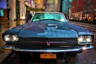 Photograph - Classic 66 Tbird by Chris Lord