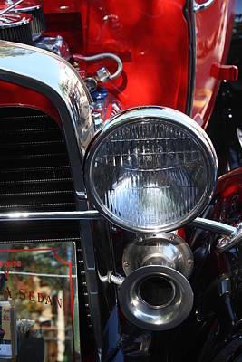 Classic Antique Car- Ford - Roaring 20s - Detail Original