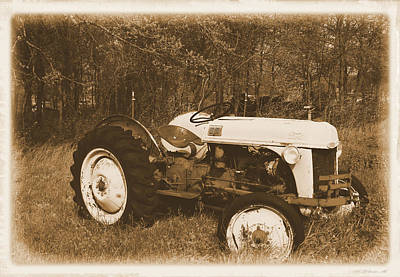 Photograph - Classic Antique Ford Tractor 1800s Photograph by Robyn Stacey