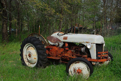 Photograph - Classic Antique Ford Tractor by Robyn Stacey