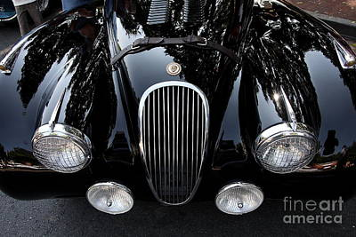 Classic Black Jaguar . 40d9322 Art Print by Wingsdomain Art and Photography