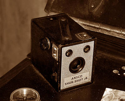 Ansco Photograph - Classic Camera by David Lee Thompson