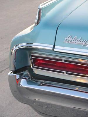 Photograph - Classic Car Aqua Holiday by Anita Burgermeister